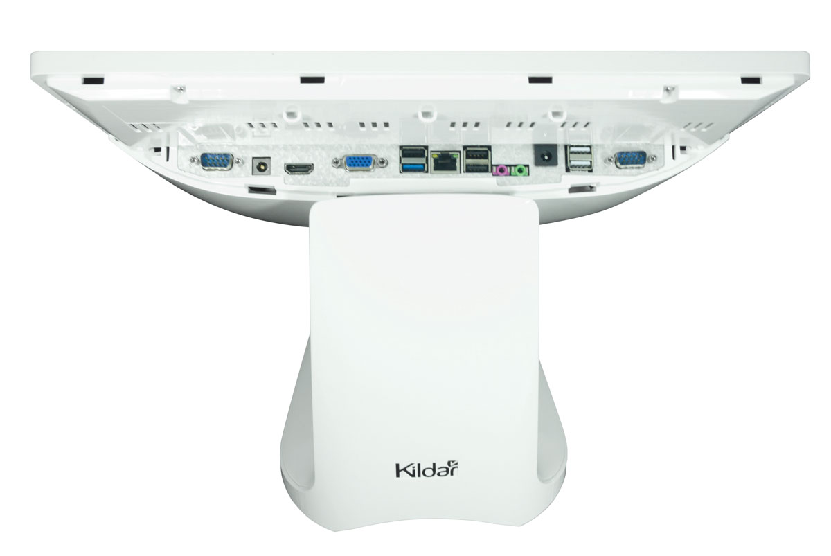 KILDAR - POS Touch Screen Terminals - DataTouch T1580 - Front Ports